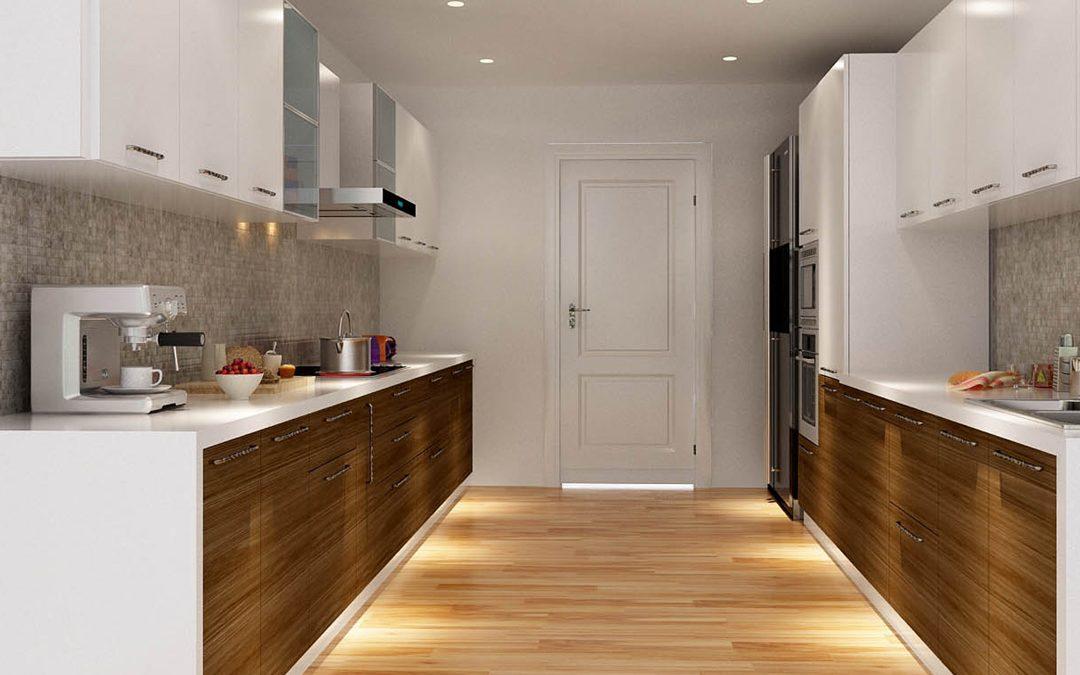آشپزخانه طراحی موازی 1